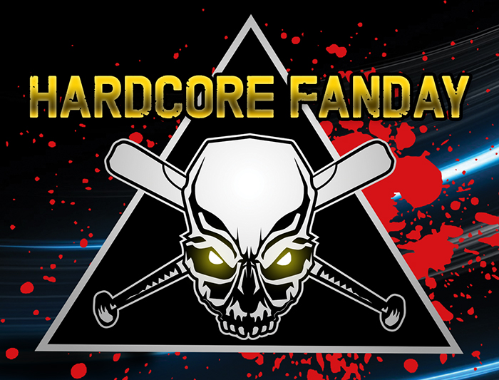 Sunday 16 april Hardcore Fanday Lineup