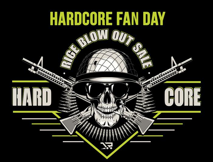 28/10 Hardcore Fan Day – Blow Out