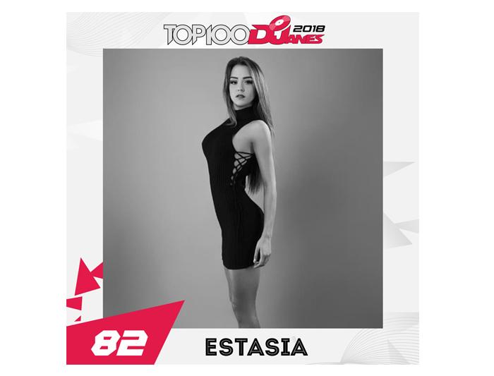 Estasia #82 DJMag Djane Top100