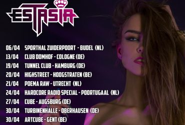 Estasia – Tourschedule april