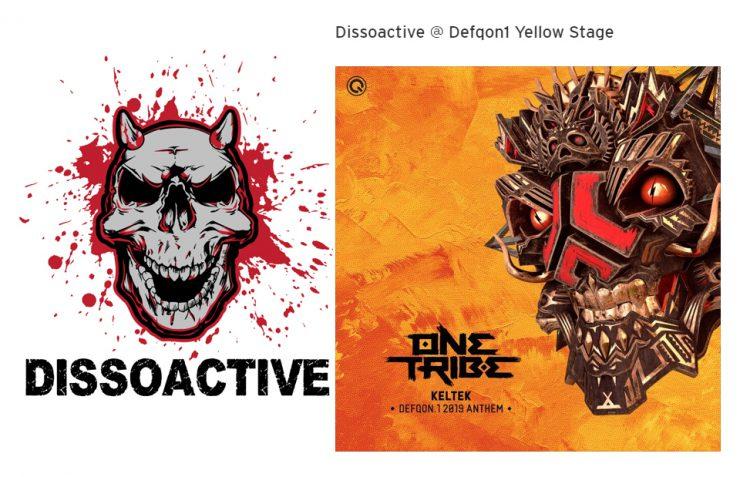 Dissoactive set at Defqon 2019