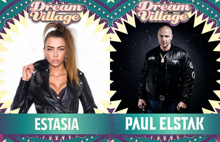 Estasia and Paul Elstak at Dream Village 2019