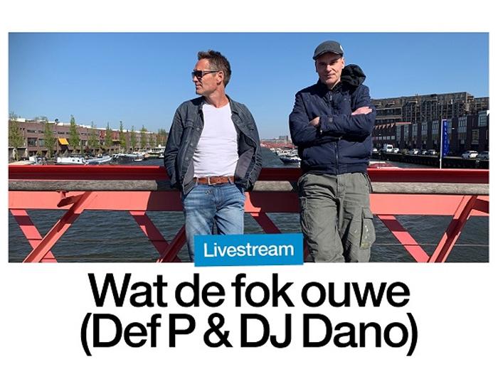 Dano & Def P live at Paradiso